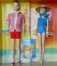 Barbie and Ken In the Swim 1961 Spring Break 2011 Conv Ft Lauterdale NRFB SIGNED