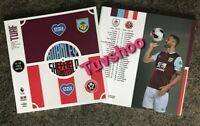Burnley v Sheffield United RESTART Programme 5/7/2020! READY TO IMMEDIATE POST!!