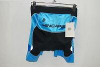 "Hincapie Women's W Velocity Shorts 7"" M Medium Cycling Tri Bike Black Blue NEW"