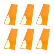 6pcs Archery Hunting Targeting Arrow Wraps Adhesive Stickers 9 inch Orange