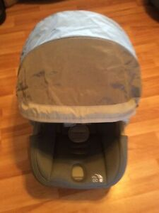 Baby Jogger City Go Infant Baby Car Seat Cover Canopy Replacement Part Gray