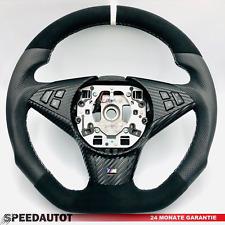 TAUSCH Tuning Abgeflacht Alcantara Lenkrad BMW 5 E60,E61,E62,E63 Multif. 6774458