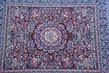 Beautiful Hand knotted Oriental Rug Flower Pattern Kirman Design 8x10