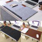 Multi-function Large Size keyboard Felt Mouse Pad Writing Pen Desk Mat Organizer