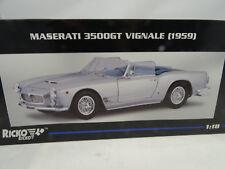 1:18 Ricko #32150 MASERATI 3500 GT VIGNALE 1959 PLATA - RAREZA§