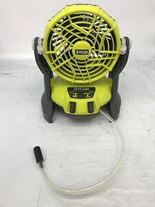 Ryobi PMF01 ONE+ 18-Volt Hybrid Portable Bucket Top Misting Fan, BT, G