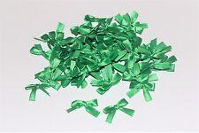 100 pcs Small Ribbon Bow Satin Mini 25mm decorations Applique sewing DIY wedding