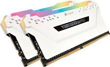 Vengeance Rgb Pro 16Gb (2X8gb) Ddr4 3200Mhz C16 Memoria De Escritorio Led - Whi