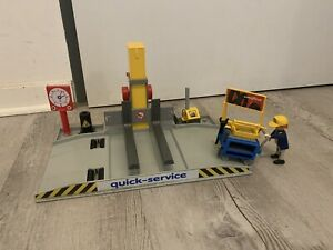 playmobil werkstatt 70202