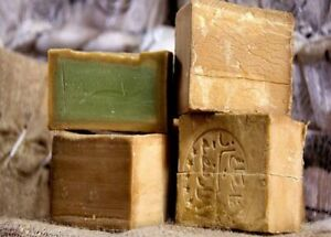 2 pcs Laurel Ghar Alepo Oil Soap 190gr (6.7oz ) natural soap صابون الغار الحلبي