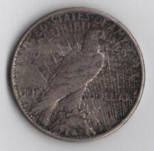 1922 Philadelphia Mint 90% Silver Peace Dollar Nice Toning!