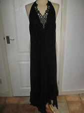 Chiffon Full Length Halterneck Ballgowns for Women