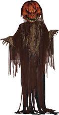 "Morris Costumes 12"" Scary Pumpkin Fiendish Decorations Halloween Prop. FM68688"