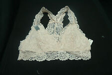 SET OF 2  SOPHIE B. INTIMATES WOMEN'S BRALETTE  SIZE LARGE...1PINK 1 WHITE..NWT