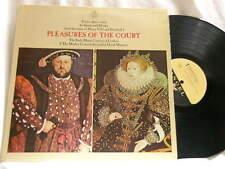 DAVID MUNROW Pleasures of the Court Christopher Hogwood Simon Standage LP