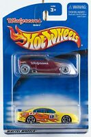 Hot Wheels Promo Walgreens Series 2 Exclusive Phaeton and SS Commodore 2 Pack