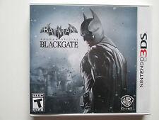 Batman: Arkham Origins -- Blackgate (Nintendo 3DS, 2013) No Manual (NTSC/US/CA)