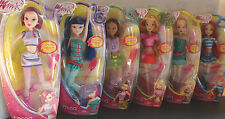 NEW WINX CLUB DOLLS SET OF 6 DOLLS BLOOM FLORA AISHA TECNA  MUSA STELLA
