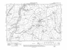 repro Corn-28-SW Railway Terrace 1907 Old map of St Cleer Cornwall