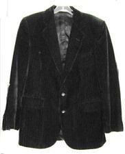 PIERRE CARDIN BLACK VELVET JACKET MENS SIZE 38 Vintage 1970's