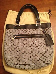 Louis Vuitton Lucille GM Bleu Monogram Mini Tote Bag - Brand New