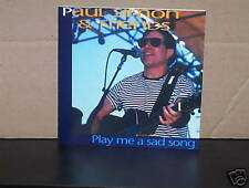 PAUL SIMON AND FRIENDS PLAY ME A SAD SONG - RARE GERMAN CD NM