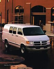 1998 Dodge RAM CARGO VAN Brochure with Color Chart: 1500,2500,3500,MAXI,