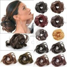 Hair Bun Scrunchie Hairpiece Pony Tail Extension Accessaries Synthetic Fiber OB