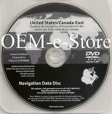 2005-2009 Pontiac Grand Prix 2007-2009 Saab 9-5 GPS Navigation DVD EAST U.S Map