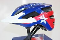 Texas Flag Mountain Bike Helmet Sz. OSFM 55cm-61cm NEW 3551