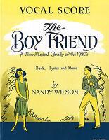 Sandy Wilson: The Boyfriend Piano, Vocal & Guitar Sheet Music Vocal Score