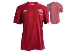 Umbro 1. FC Norimberga TRAINING CALCIO JERSEY ROSSO gr.l FCN CALCIO SHIRT CLUB