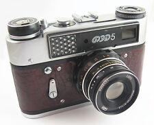 FED 5 Russian Leica Copy Camera Industar-61LD Lens EXC #596305