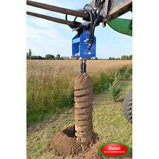 NEU Erdbohrer DM. 250mm für Hoftraktor Traktor Zaunbau Bäume Pfahlbohrer