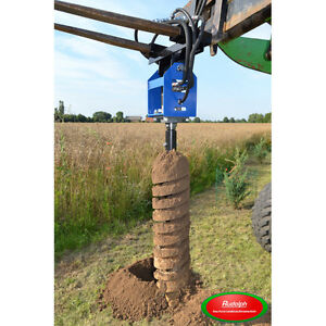 NEU Erdbohrer DM. 250mm für Minibagger Traktor Zaunbau Tor Tür