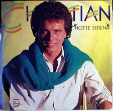 """CHRISTIAN - NOTTE SERENA - VINILE 7"""""""