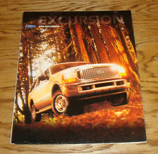 Original 2000 Ford Excursion Foldout Sales Brochure 00