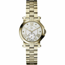 Guess Collection GC Women's Demoiselle Gold w/ Mother-of-Pearl Watch - X50002L1S
