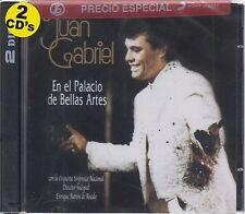 748211066728 Juan Gabriel CD NEW CAJA NEGRA En El Palacio De Bellas Artes 2 CD