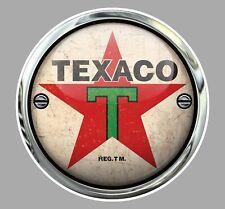 STICKER TEXACO CARBURANT TEXAS COMPAGNIE PETROLIERE AUTOCOLLANT USA TA112
