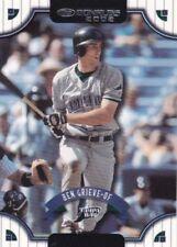 Not Autographed Single Baseball Trading Cards Season 2002