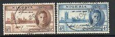 Nigeria 1946 victory fine used set stamps