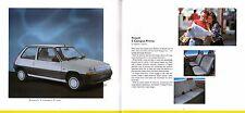 Renault 1993 UK Market Sales Brochure 5 Clio 19 21 Espace Safrane Alpine A610