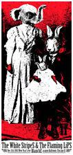 Rob Jones White Stripes Flaming Lips New Years 2003-04 Chicago Silkscreen Poster