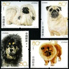 China 2006-6 Stamp China World Famous Dog Stamps China Pet Dog Stamps 4PCS