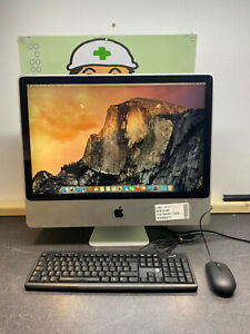 "Apple iMac 24"" A1225 Intel Core 2 Duo 2.8GHz 3GB 1TB DESKTOP PC YOSEMITE UK 3G.1"