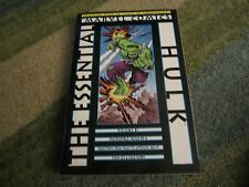 THE ESSENTIALS: THE HULK VOLUME 1 ORIGINAL COLLECTION OUT OF PRINT VERSION!!!