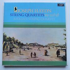 BOX HAYDN Sting quartets Op54& 55 AEOLIAN STRING QUARTET   ARGO  HDNS 67 - 69