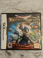 Mage Knight: Destiny's Soldier - Nintendo DS (No Manual) -Authentic Rare RPG