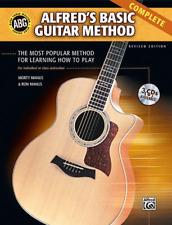 Alfred's Basic Guitar Method, Complete-MUSIC BOOK/CD-BRAND NEW ON SALE-METHOD!!